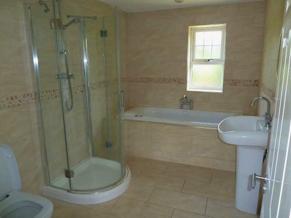 Completed Tiled Bathroom